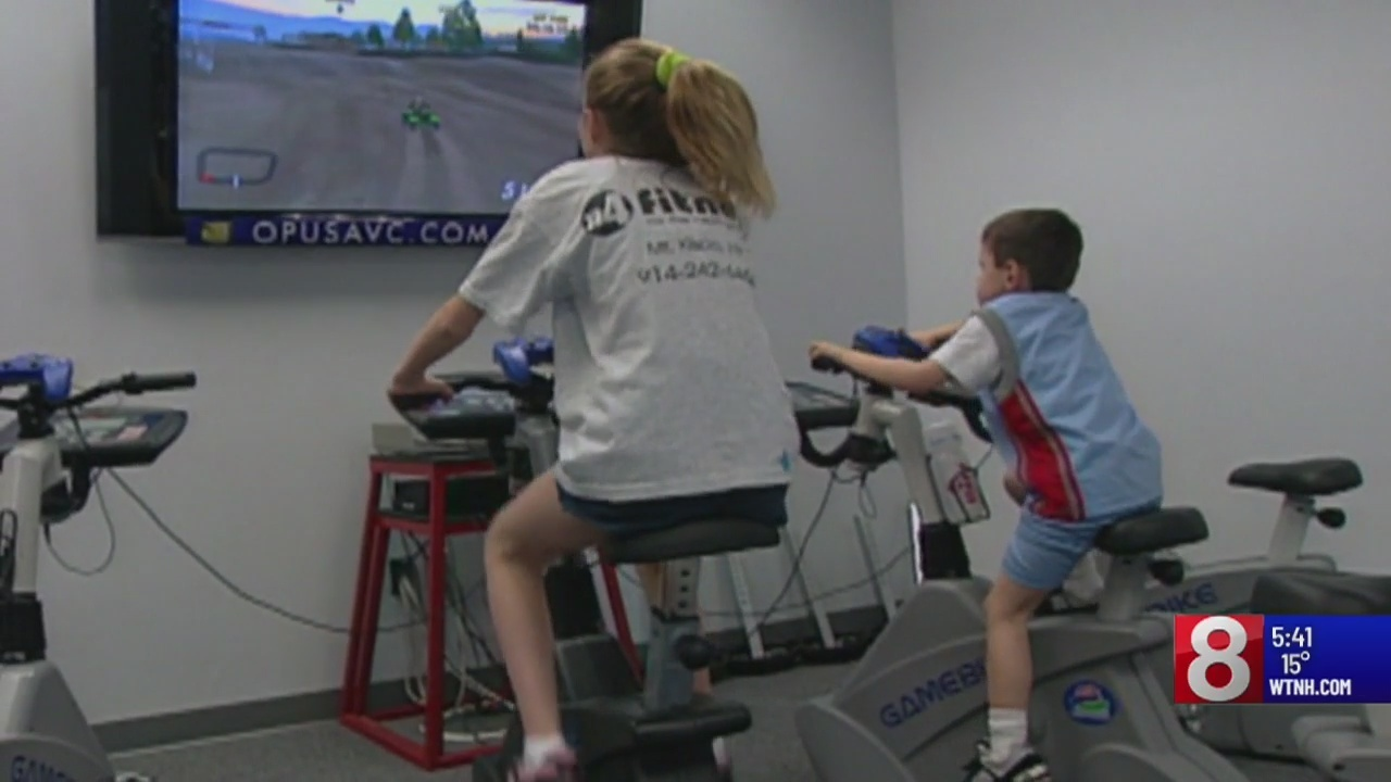 'Exergaming' helping young kids stay fit