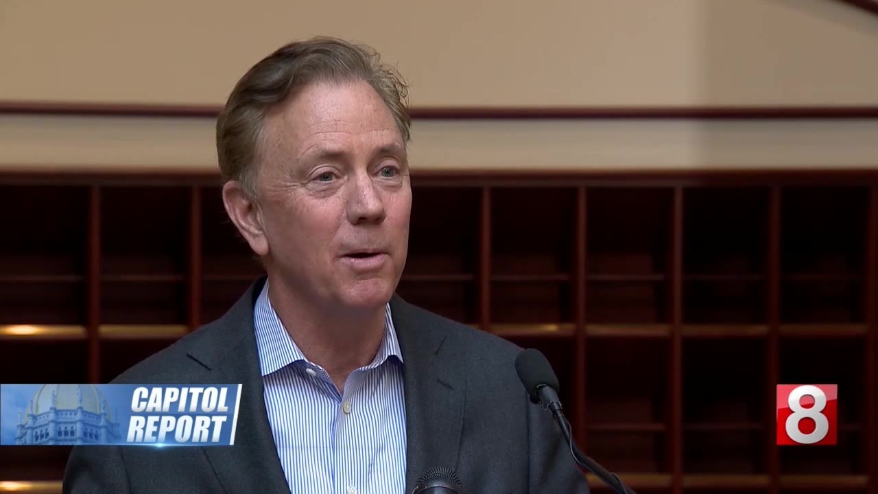 Capitol Report: Gov. Lamont continues plan to keep state on 'debt diet'