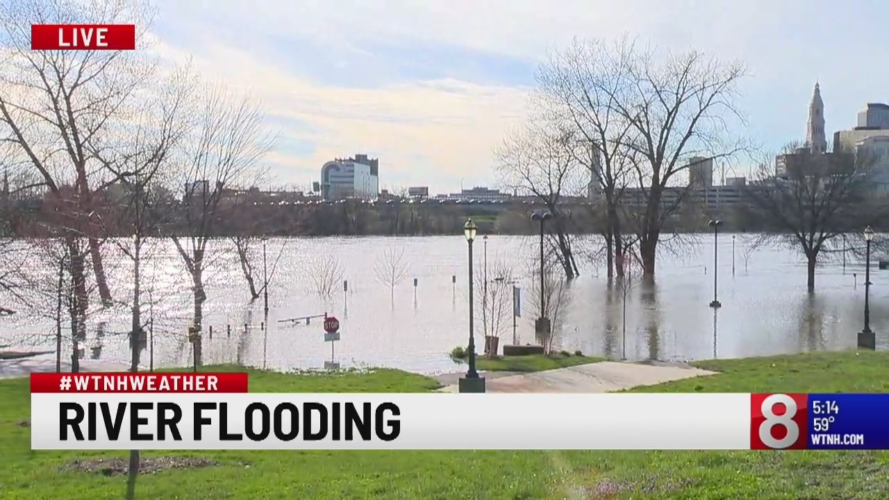 Rain and melting snow contributes to Connecticut River flooding