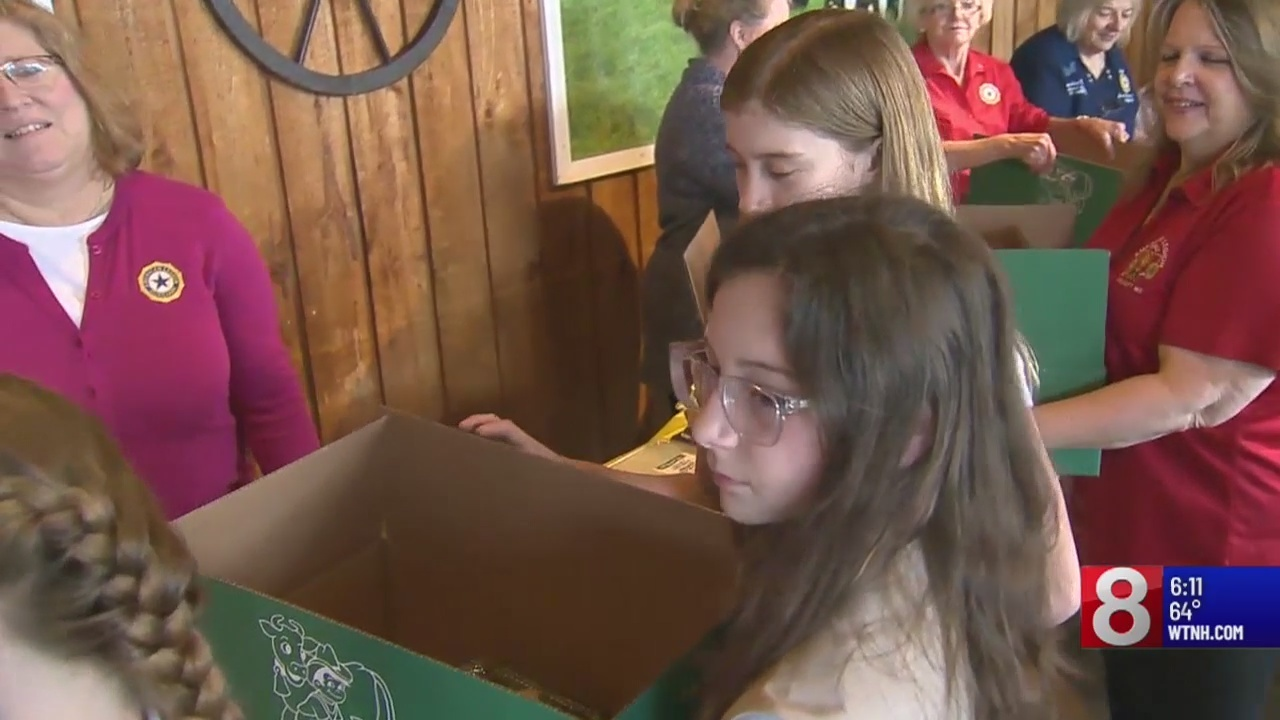 """Operation Basket"" makes care packages for families of service members deployed overseas"