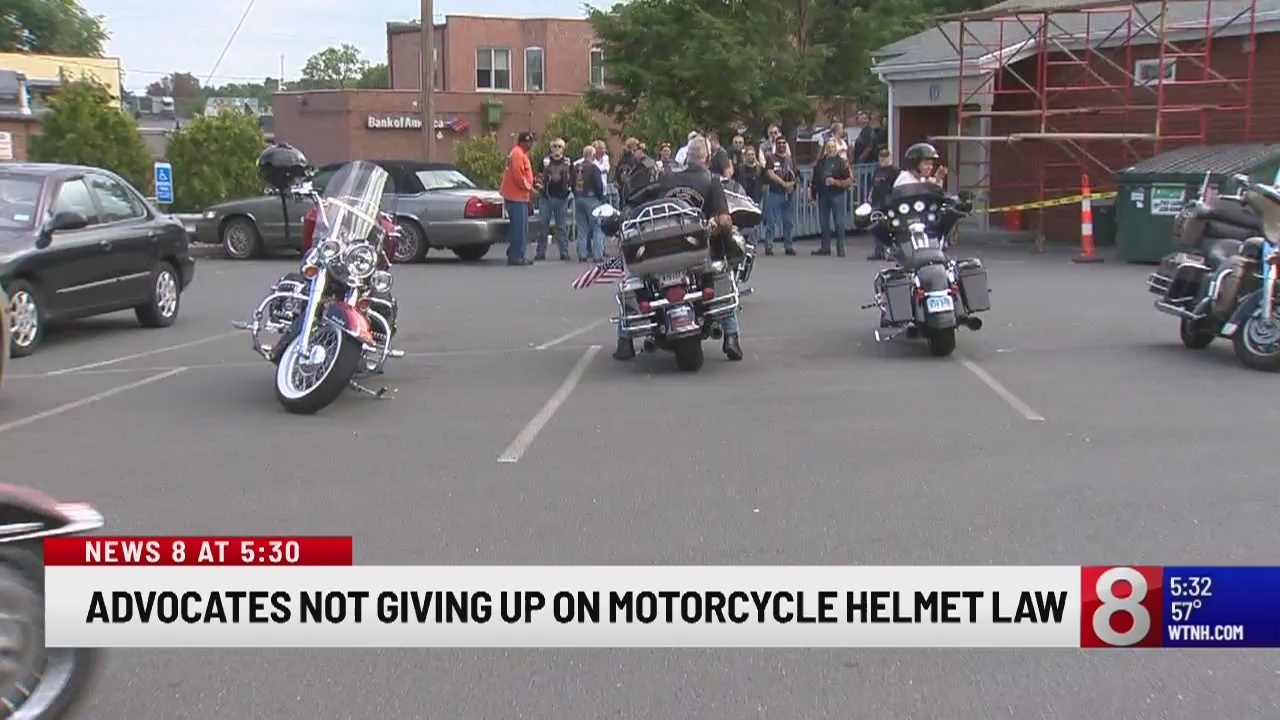Advocates not giving up on universal motorcycle helmet law