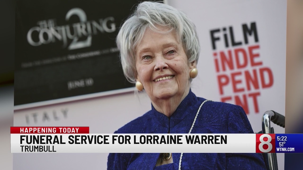 Funeral service set for Lorraine Warren