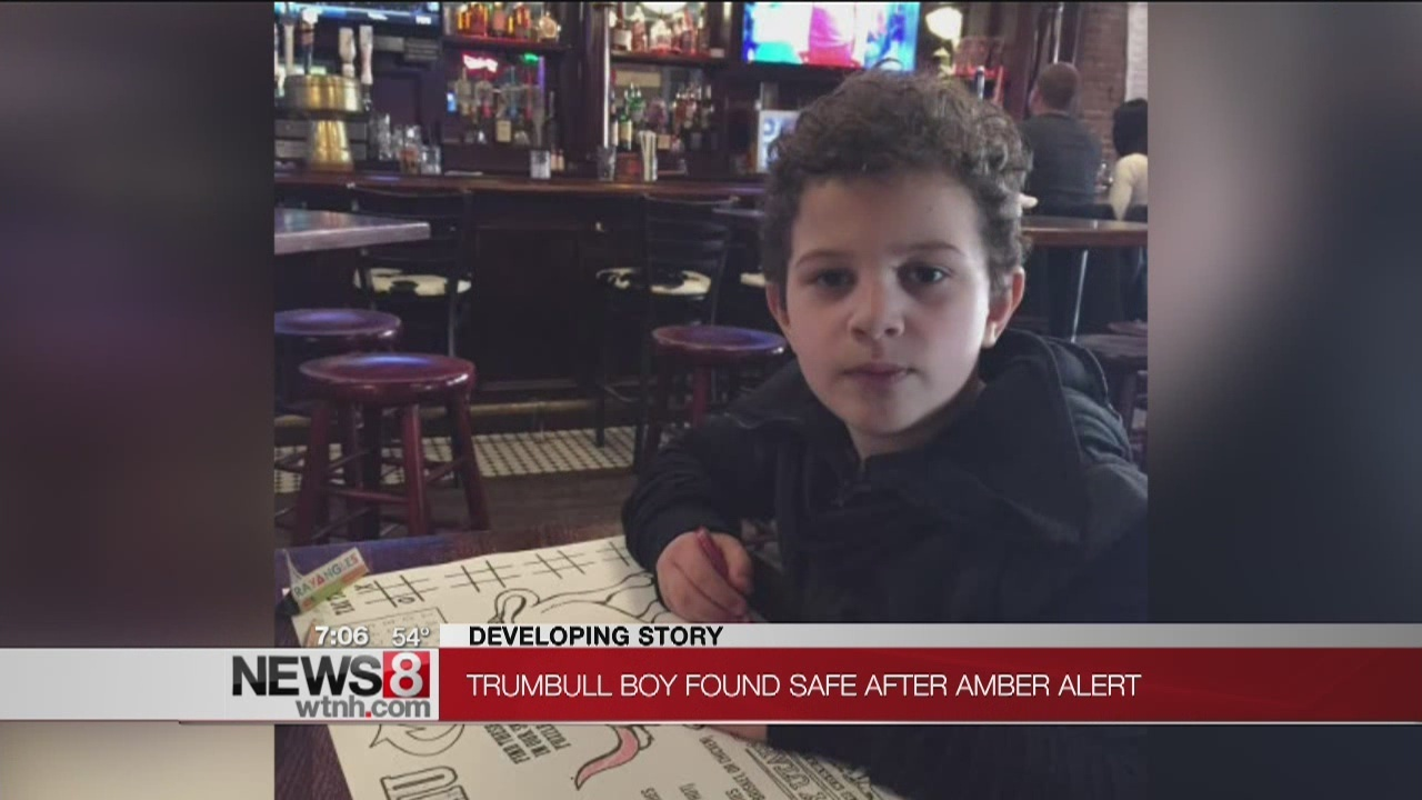 Amber Alert canceled for Trumbull 7-year-old