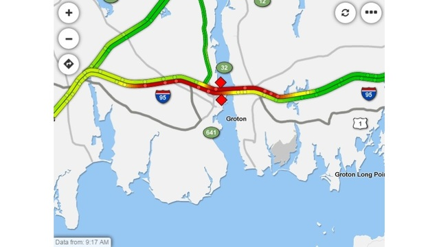 Accidents Plague I 95 In New London