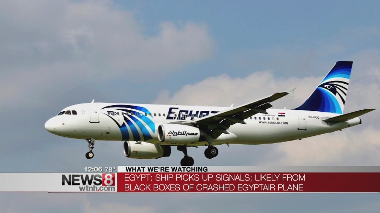 Egypt says signals picked up from doomed plane\'s black boxes
