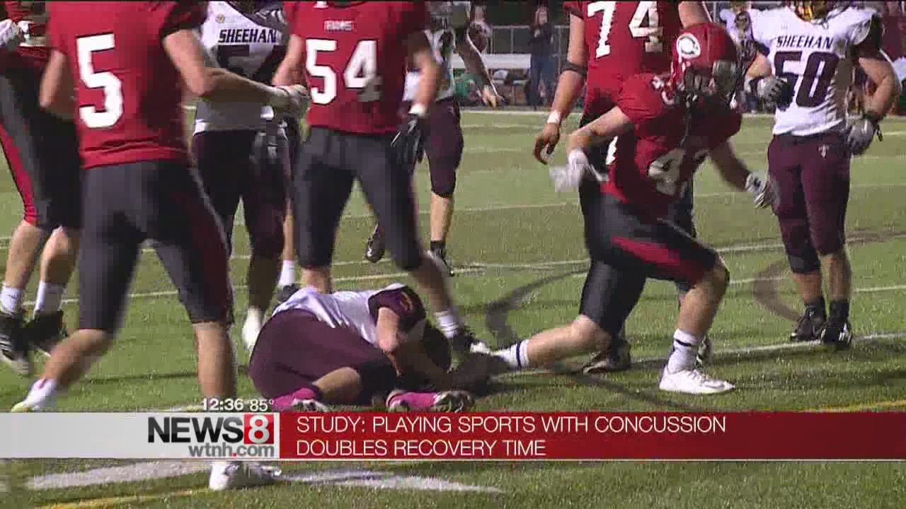 Playing With Concussion Doubles >> Study Playing With Sports Concussion Doubles Recovery Time