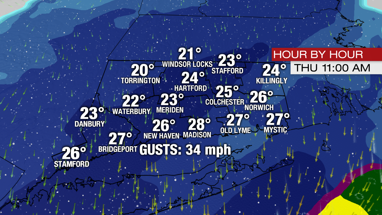 Hour By Hour Breakdown Of Thursday S Storm