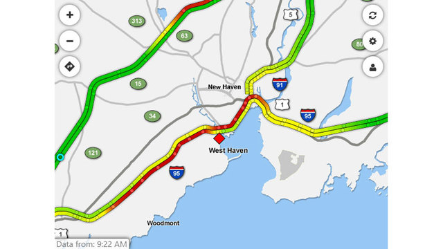 Multiple Crashes Cause Big Delays On I 95 North In West Haven
