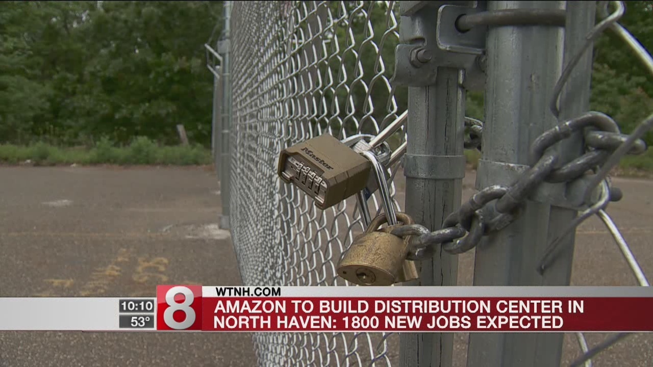 Amazon To Open New Fulfillment Center In North Haven Creating 1800 Broadcast Wiring Jobs London