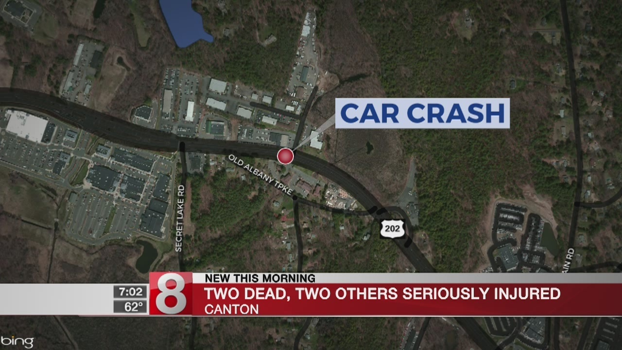 Canton Police are investigating a car crash after 2 people
