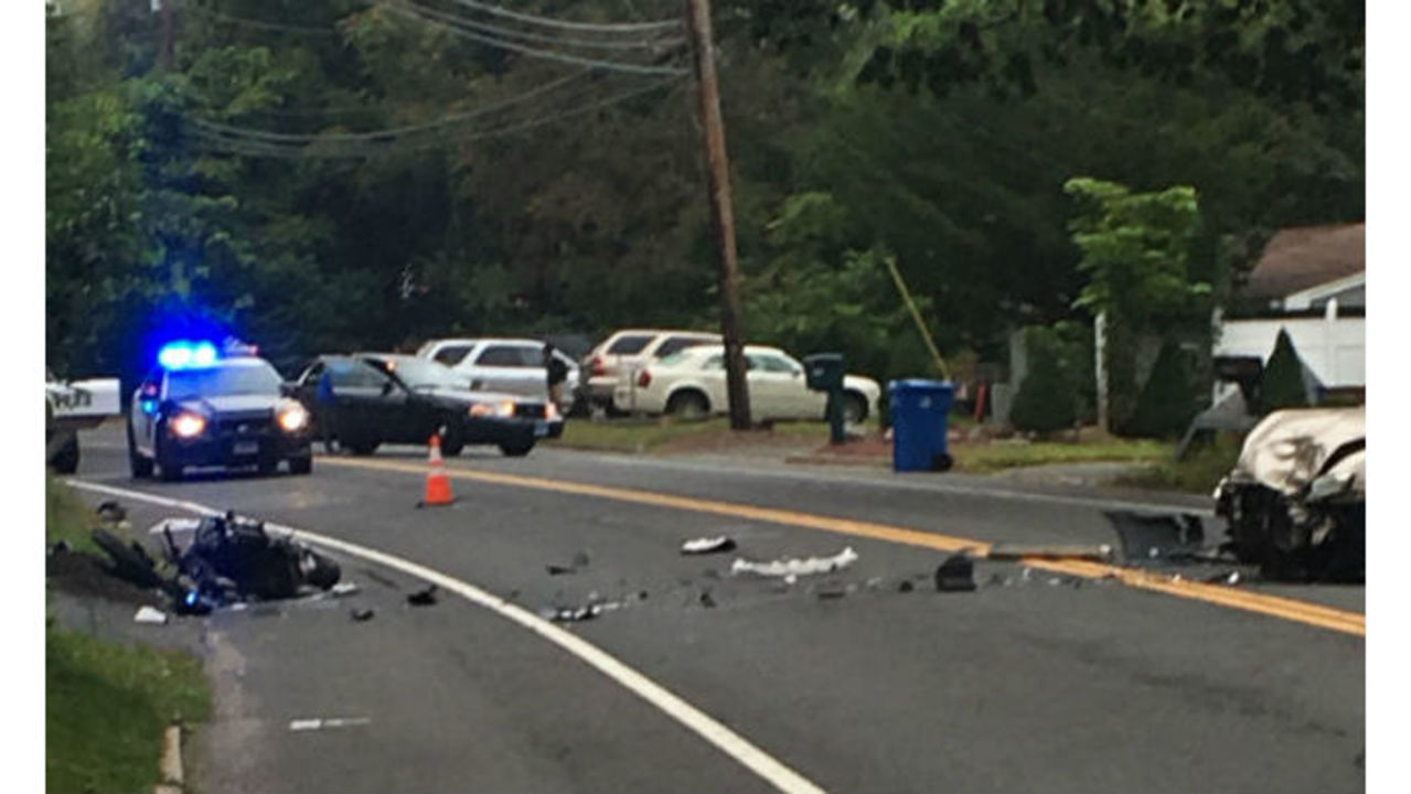 Route 110 reopens after motorcyclist seriously injured in Shelton crash