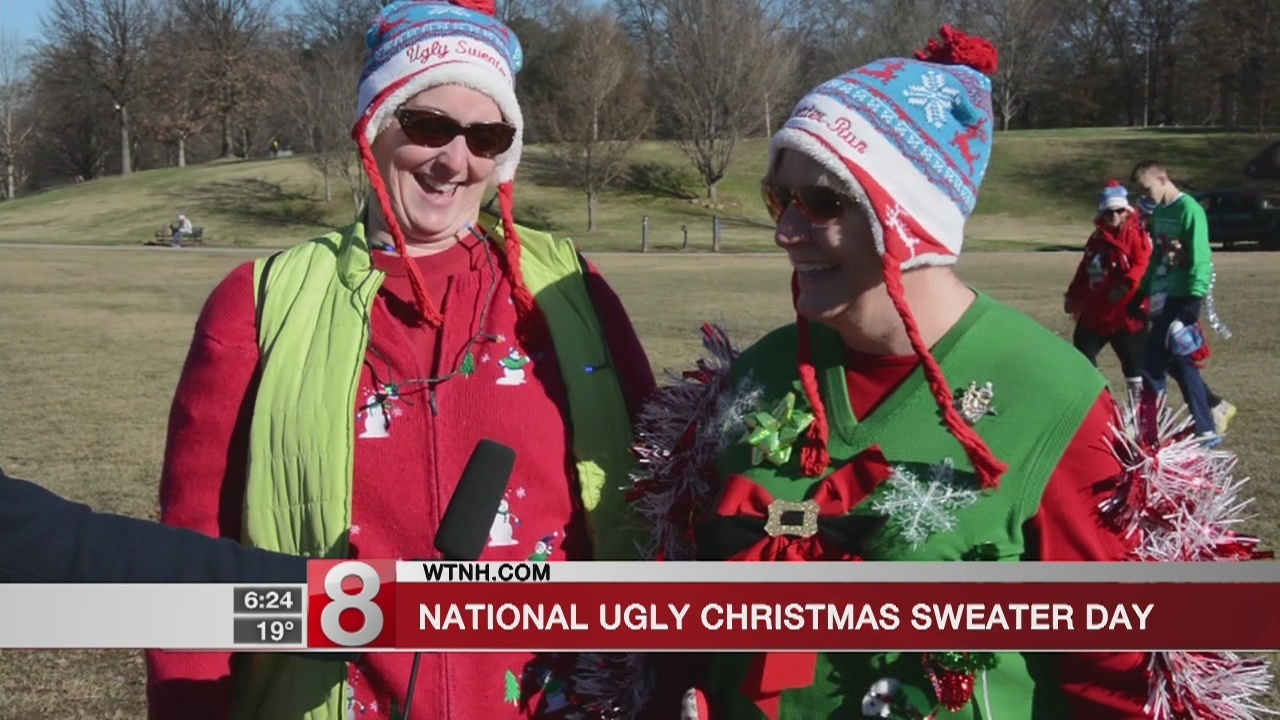 Ugly Christmas Sweater Day\' celebrated Friday