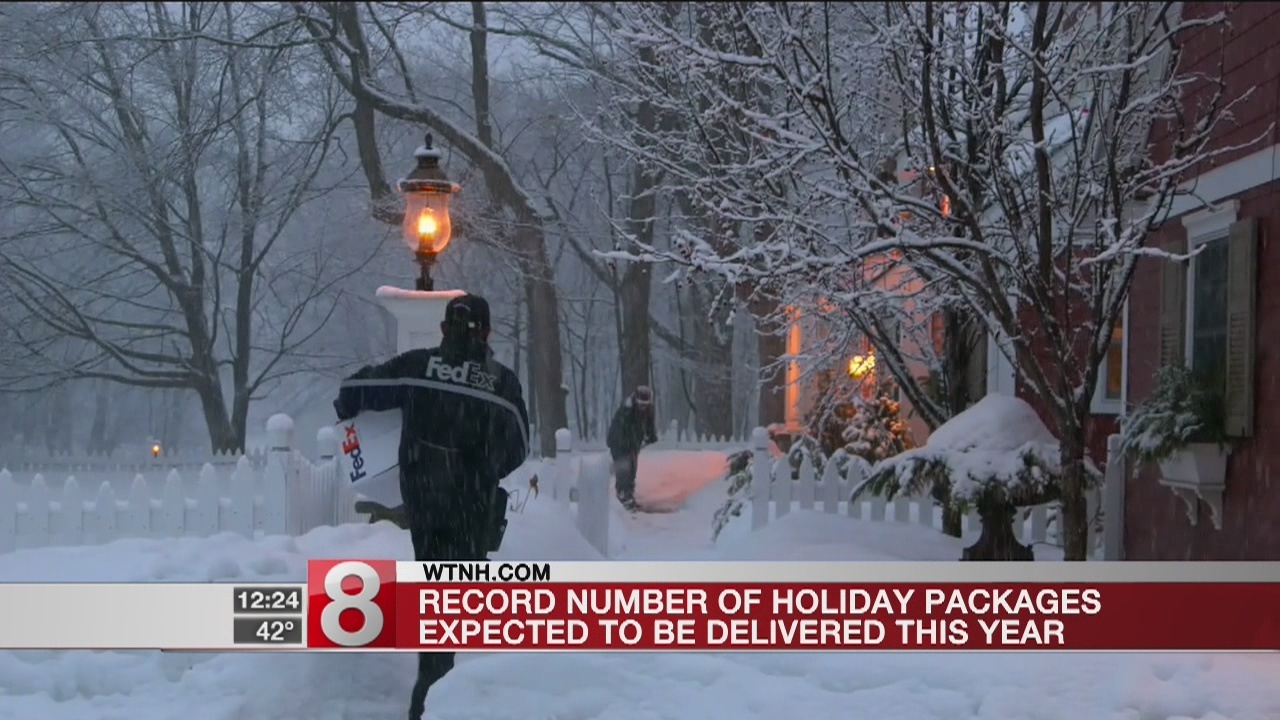 fedex says record number of holiday deliveries are on track