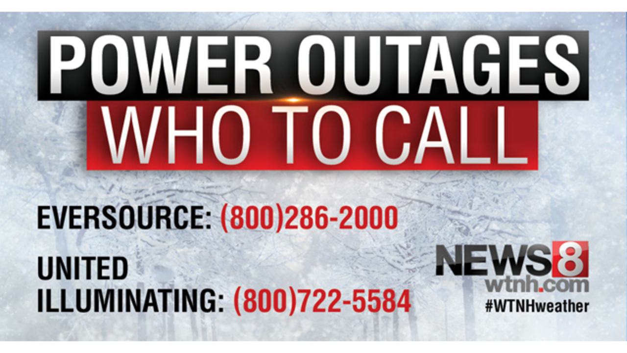 Ct Power Outage Map Ui.How To Report Power Outages In Your Area