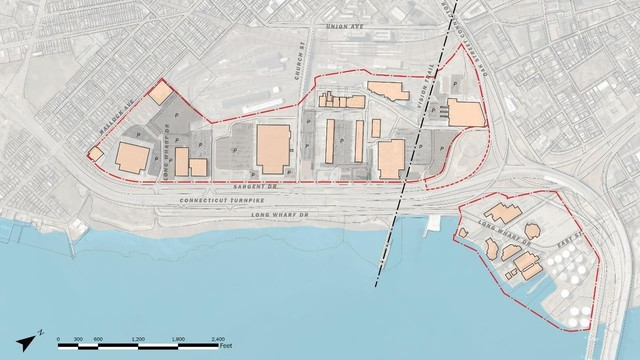 Future Vision For New Haven S Long Wharf District