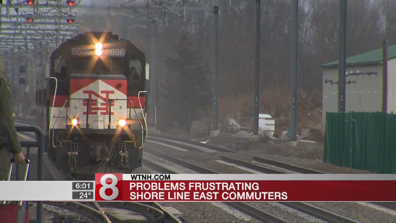 shore line east delays and cancellations frustrate commuters