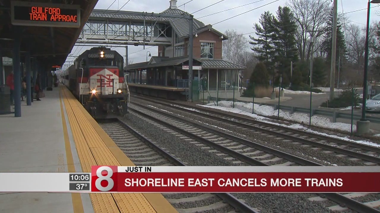 number of shoreline east trains to be replaced by bus service wednesday
