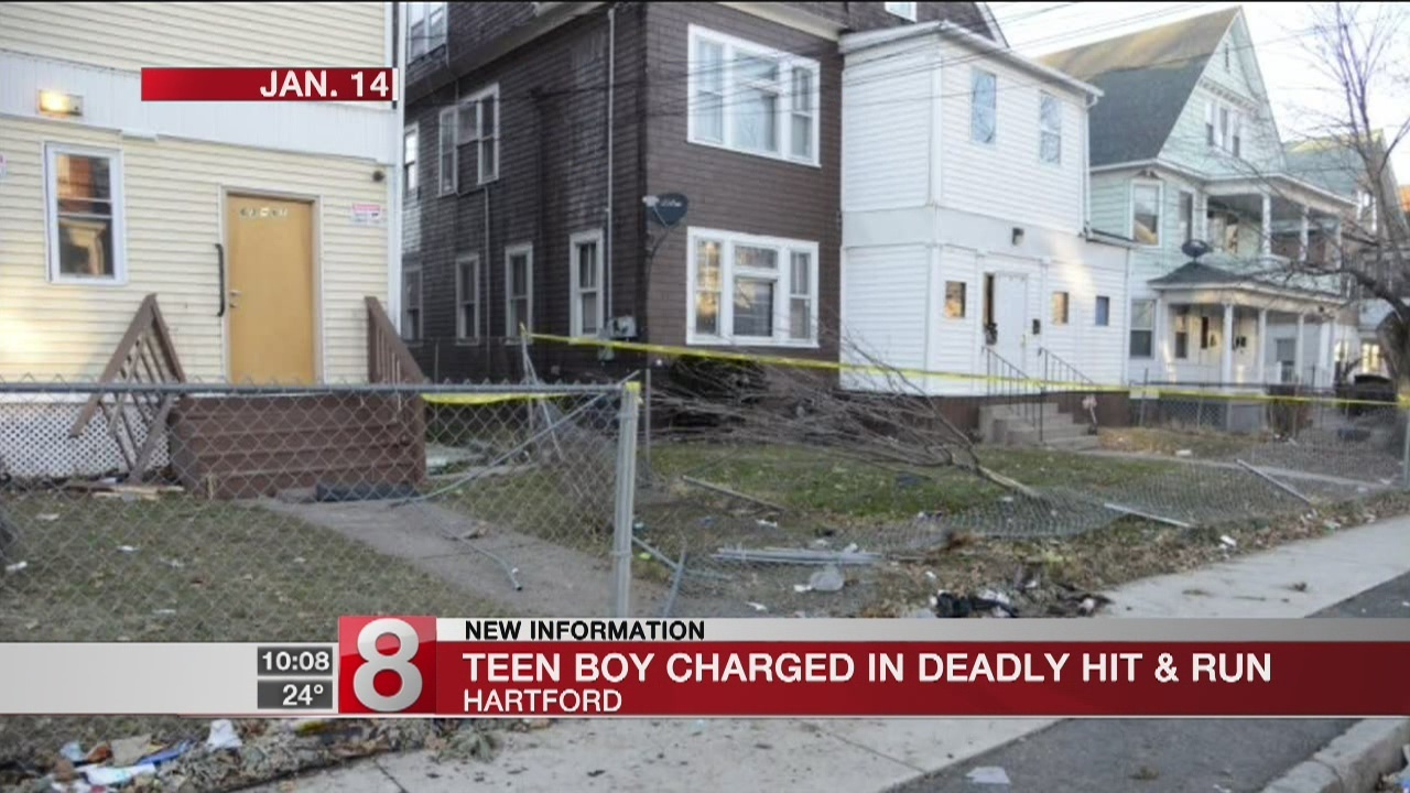 PD: 15-year-old arrested for fatal Hartford hit and run