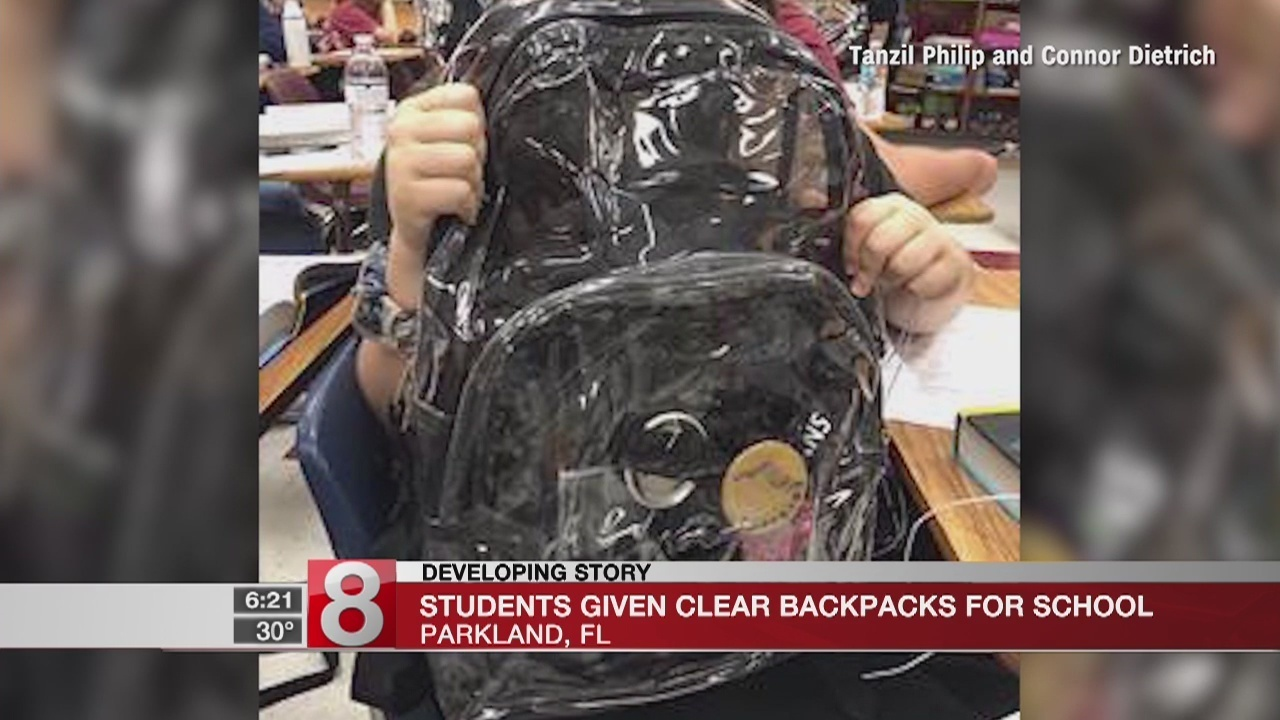 How Parkland students feel about their new mandatory clear backpacks bb45c99bc4443