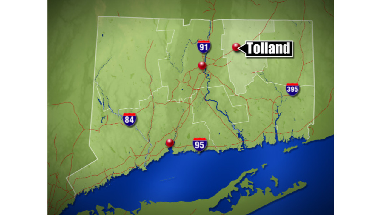 1 transported to hospital following Tolland motorcycle accident