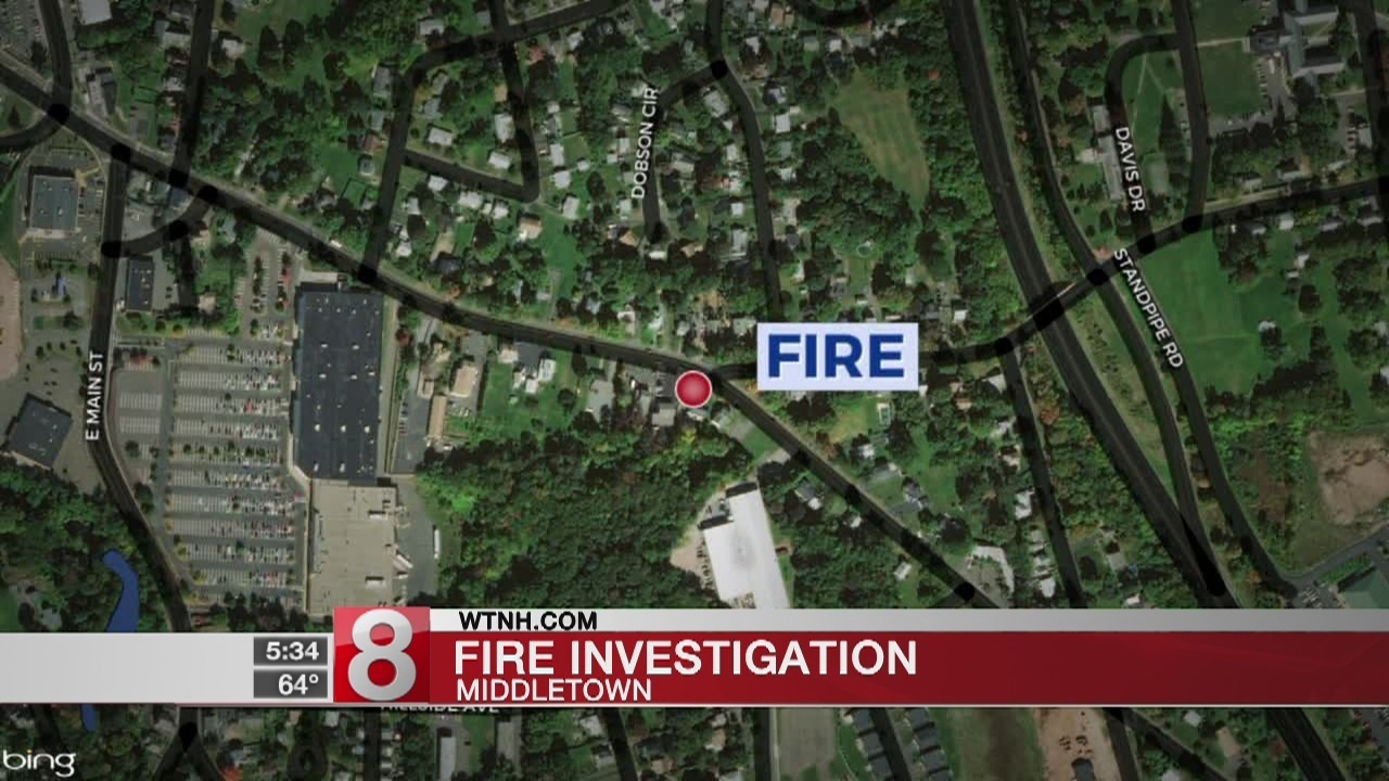 Crews Respond To Middletown Fire
