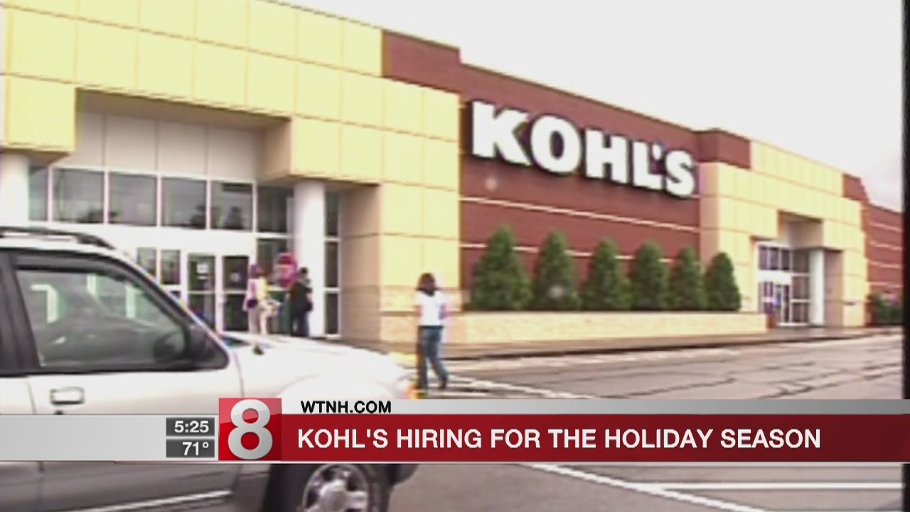 2be2d7eb45e How tight is this job market  Kohl s is already hiring for Christmas