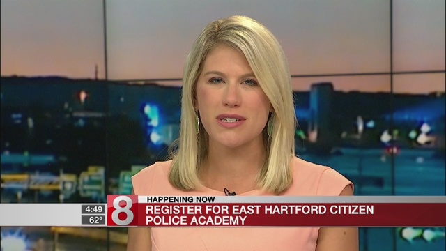 Registration Taking Place For East Hartfords Citizen Police Academy