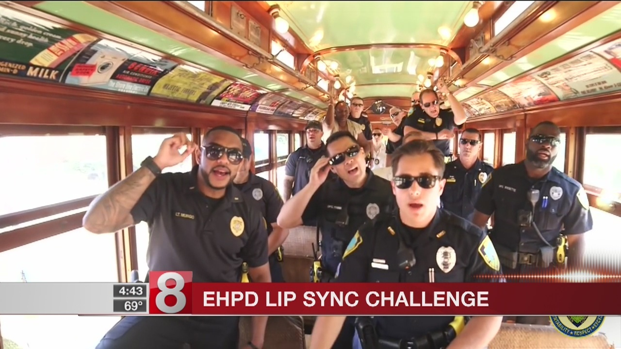 East Haven Police Department takes on the 2018 Lip Sync