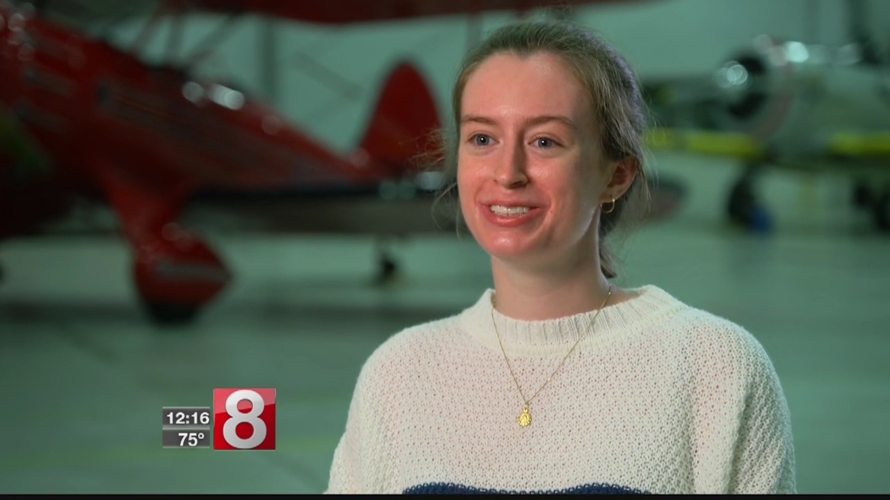 Teen Pilot On First Solo Flight Freaked Out A Little Bit While Preparing To Land Damaged Plane