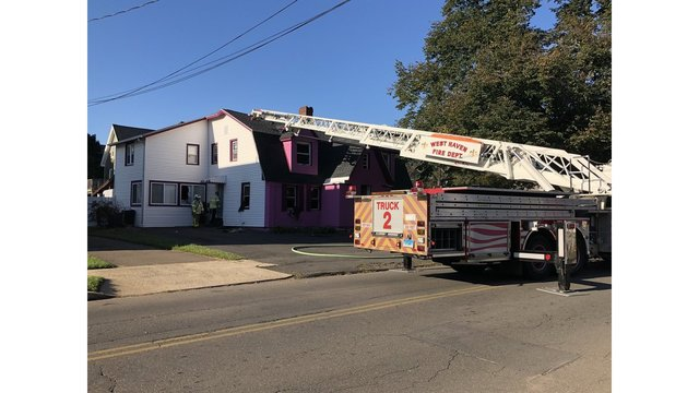Officials respond to West Haven fire