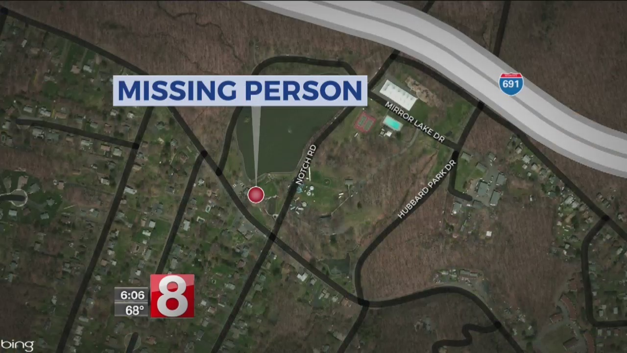 Police Continue To Search For Missing Man In Hubbard Park