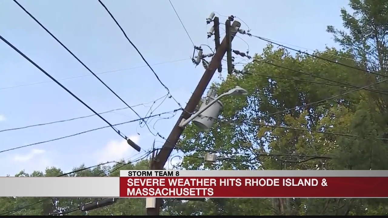 Officials Confirm Tornado Touched Down In Lincoln Ri Rhode Island Wiring