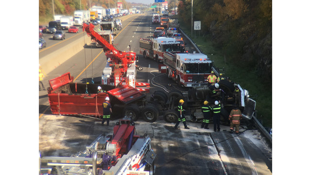 Interstate 95 northbound reopens in Milford following fatal