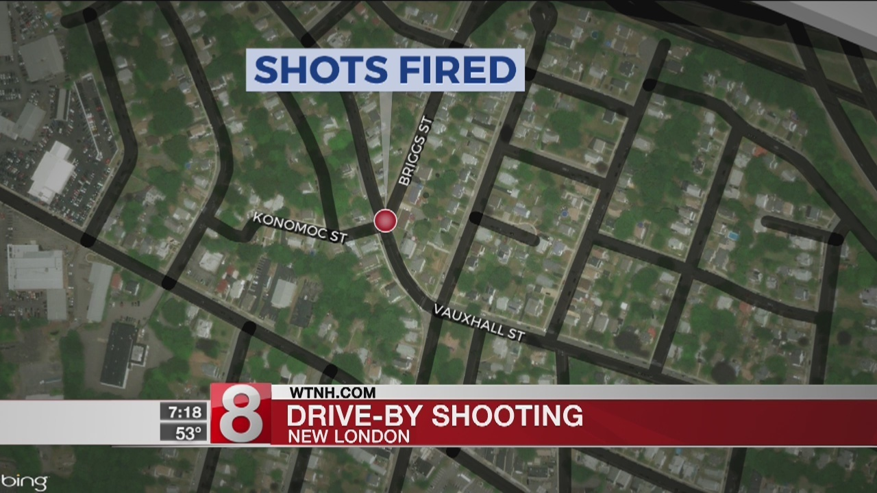 Officers Respond To Reports Of Gunfire In New London Friday Night