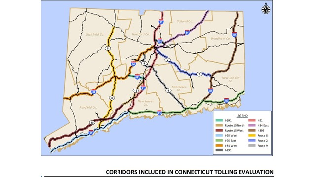 New Study Tolls In Connecticut Could Raise 1 Billion Per Year