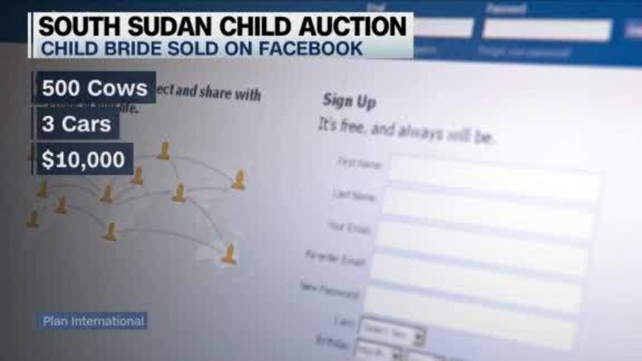 Image result for child bride auctioned on facebook