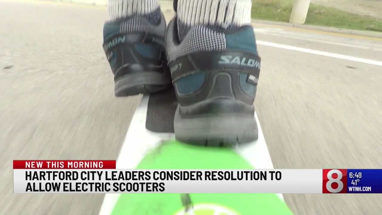 Hartford mulls resolution to allow electric scooter program