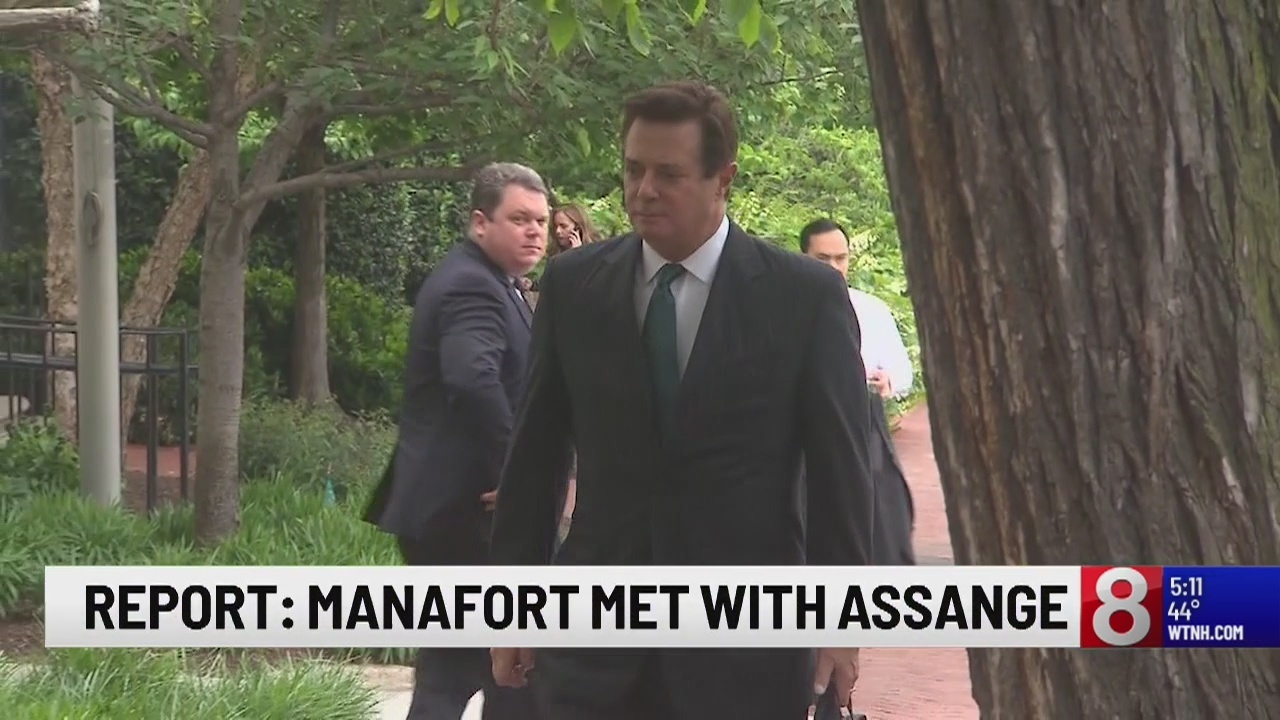 Image result for photos of manafort assange