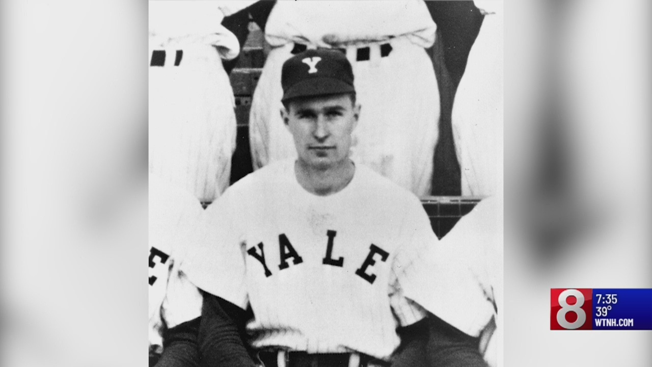 President George H W Bush Was Starting Player For Yale Baseball Team