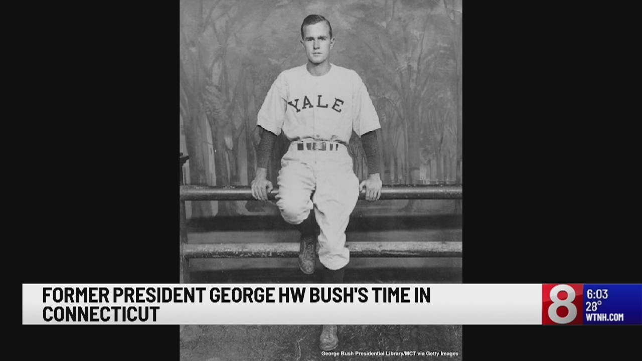 Yale University Remembers Alumnus And Former President George Hw