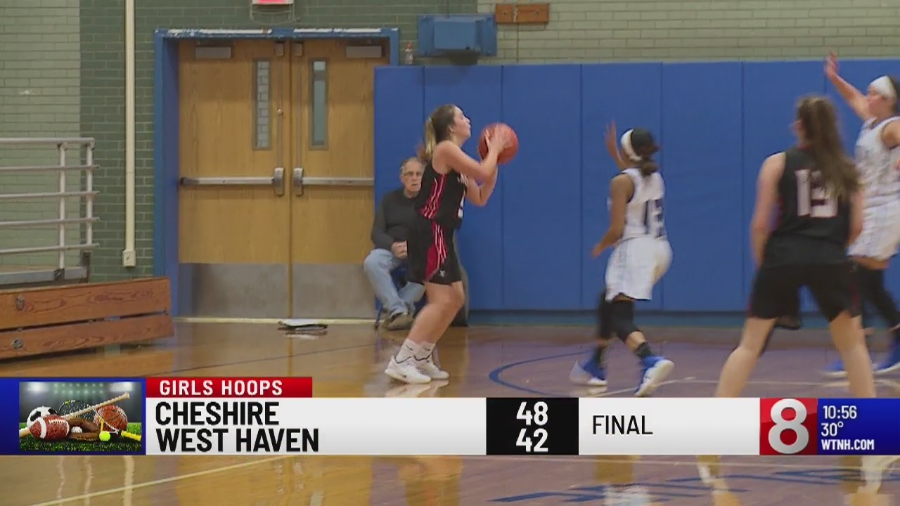 Cheshire inches past West Haven basketball 48 - 42