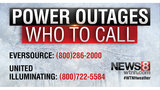 More than 30,000 outages reported across Connecticut