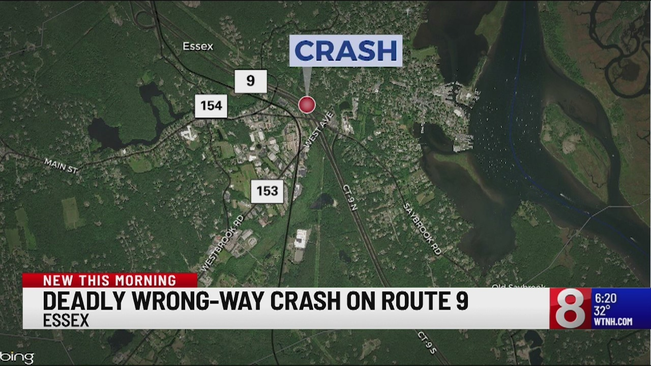 Officials Identify Person Killed In Essex Wrong Way Crash
