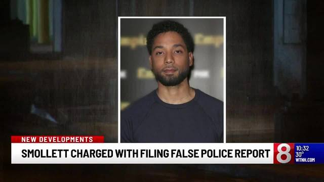 Jussie Smollett charged with felony disorderly conduct for