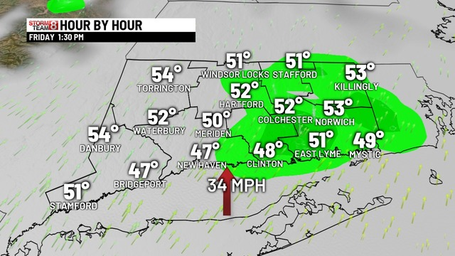 How To Make A Weather Map.Today S Connecticut Forecast