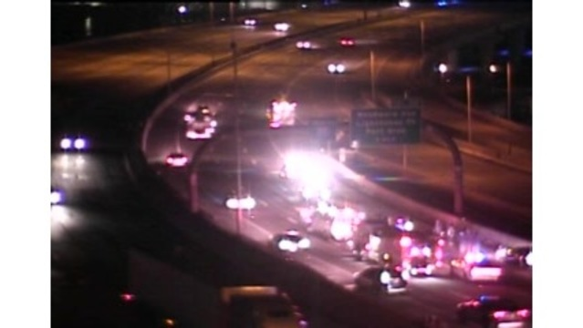 TRAFFIC ALERT: Cleared-Overturned vehicle on 95-N Exits 48-50