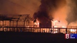 Large fire destroys 3 renovated buildings at Silver Sands State Park in Milford