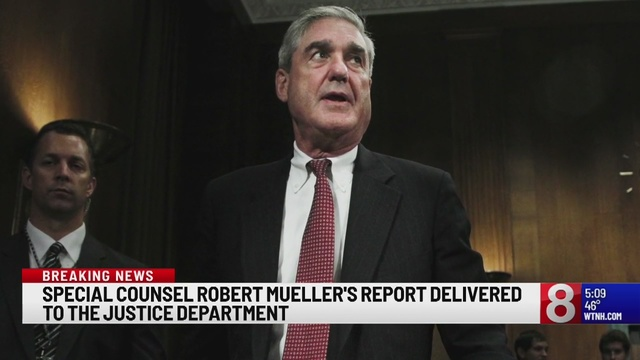 Robert Mueller sends report for Bill Barr's review
