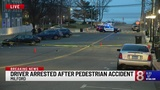 PD: Driver arrested after pedestrian struck in Milford