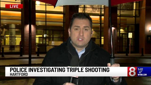 Hartford PD: Investigating shooting incident, the three